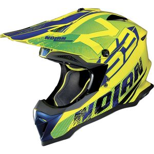 Casque Cross Nolan N53 Woop Led Yellow 2018