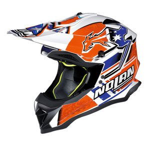 Casque cross N53 PRACTICE REPLICA C.STONER SUZUKA 2017 Metal white 22