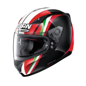 Casque N60.5 - GEMINI - REPLICA C.STONER TOGETHER  Flat Black 52