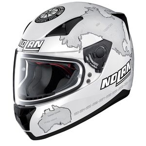 Casque N60.5 - GEMINI - REPLICA C.CHECA  Flat white
