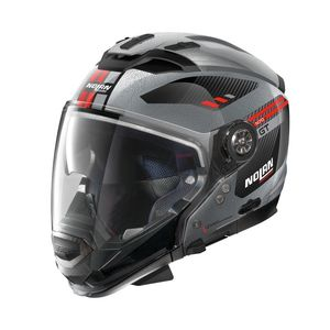 Casque N70.2 GT - BELLAVISTA - SCRATCHED CHROME  Scratched Chrome 29