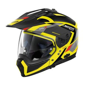 Casque N70.2 X - GRANDES ALPES N-COM - LED YELLOW  Led Yellow 27