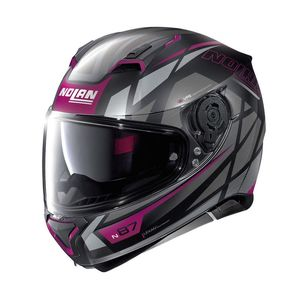 Casque N87 - ORIGINALITY N-COM - FLAT PURPLE  Flat Black 71