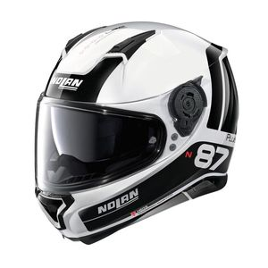 Casque N87 PLUS - DISTINCTIVE N-COM - METAL  Metal White 22