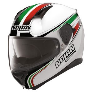 Casque N87 - ITALY N-COM  Metal white 32