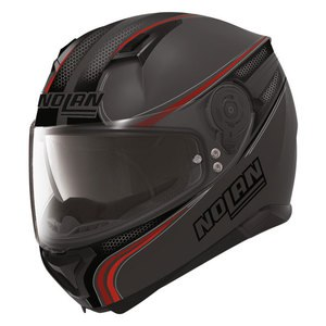 Casque N87 - RAPID N-COM  Flat lava grey 16