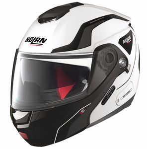 Casque N90.2 - STRATON N-COM  Metal White 17