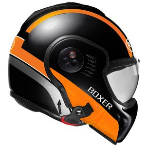 Casque RO5 BOXER V8 MANGA  Noir/Orange