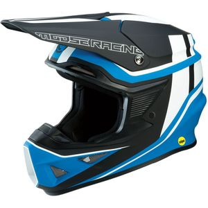 Casque cross F.I SESSION NOIR/BLEU 2019 Noir/Bleu