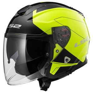 Casque OF521 - INFINITY - BEYOND  Noir/Jaune