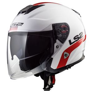 Casque OF521 - INFINITY - SMART  White Red