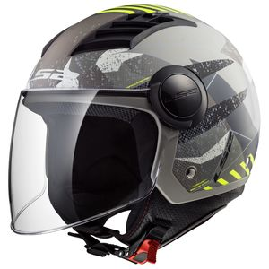 Casque OF562 - AIRFLOW - CAMO  Matt Titanium Yellow