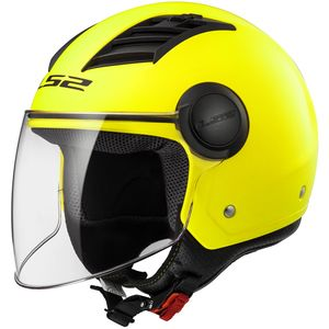 Casque Ls2 Of562 Airflow Solid Fluo