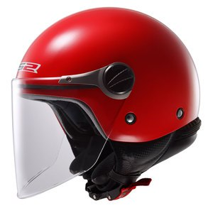 Casque WUBY SOLID - OF 575 ENFANT  Rouge