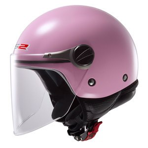 Casque WUBY SOLID - OF 575 ENFANT  Rose