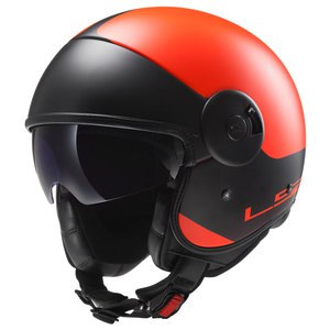 Casque CABRIO GRAPHICS - OFF 597  Orange/Noir
