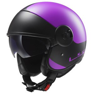Casque CABRIO GRAPHICS - OFF 597  Violet/Noir