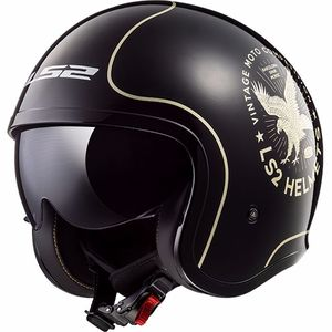 Casque OF599 - SPITFIRE - FLIER  Black