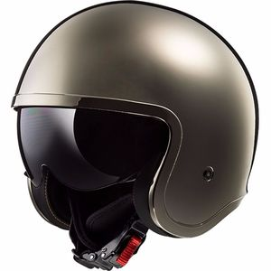 Casque Ls2 Of599 - Spitfire Solid Chrome