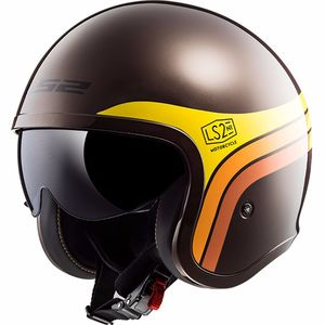 Casque OF599 - SPITFIRE - SUNRISE  Brown Orange Yellow