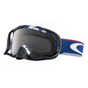 Masque cross CROWBAR MX  - RYAN DUNGEY LENS DARK GREY 2016 Bleu/Blanc