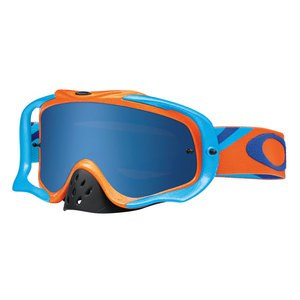 Masque cross CROWBAR MX  - HERITAGE RACER ORANGE LENS ICE IRIDIUM 2016 Orange/Bleu