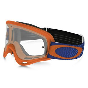 Masque cross O FRAME MX  - SHOCKWAVE ORANGE BLUE LENS CLEAR 2016 Orange/Bleu