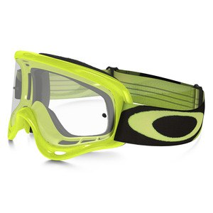 Masque cross XS O FRAME MX  - HERITAGE RACER GREEN LENS CLEAR  Vert