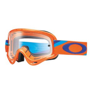 Masque Cross Oakley Xs O Frame Mx - Heritage Recer Orange Lens Clear 2016