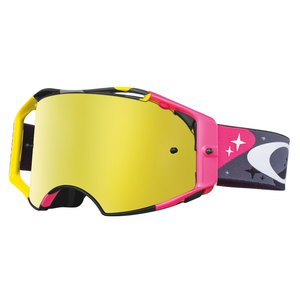 Masque cross AIRBRAKE MX - COMICS CAMO NEON 2015 Gris/Rose