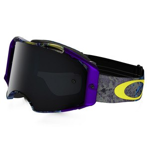 Masque cross AIRBRAKE MX  - SKULL PIPE BLUE LENS DARK GREY 2016 Violet