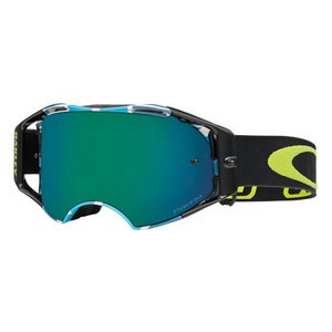 Masque cross AIRBRAKE MX  - CHAD REED SPEED STRIPE LENS PRIZM JADE 2016 Noir/Bleu