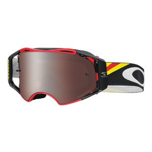 Masque cross AIRBRAKE MX  - HERITAGE RACER RED LENS PRIZM BLACK 2016 Noir/Rouge