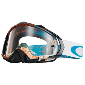 Masque Cross Oakley Mayhem Pro Mx - Tagline Blue Orange 2015