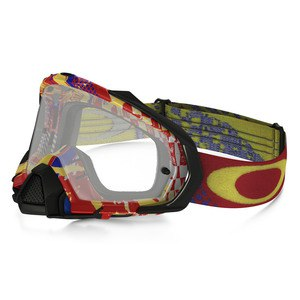Masque Cross Oakley Mayhem Pro Mx - Mosh Pit Rb Lens Clear 2016