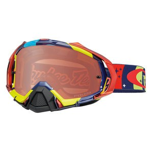 Masque cross MAYHEM PRO MX  - TROY LEE DESIGNS PHANTOM RYB LENS PRIZM BRONZE 2016 Multicolore