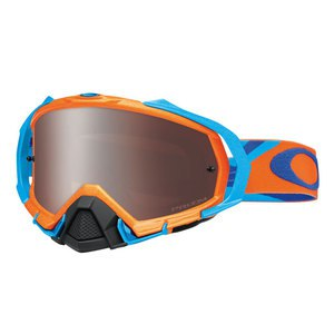 Masque cross MAYHEM PRO MX  - HERITAGE RACER ORANGE LENS PRIZM BLACK 2016 Orange/Bleu