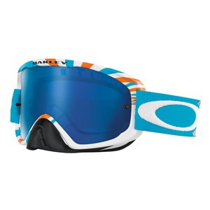 Masque cross O2 MX - RPM ORANGE/BLUE BLACK ICE IRIDIUM 2017 Orange/Bleu