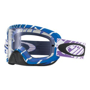 Masque cross O2 MX - RUSHMORE PURPLE BLUE 2017 Bleu/Violet