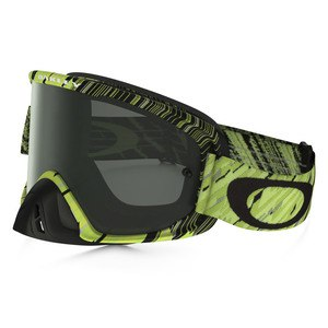 Masque Cross Oakley O2 Mx - Rain Of Terror Green Yellow Lens Dark Grey 2016