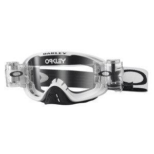Masque Cross Oakley O2 Mx Race Ready - Matte White Lens Clear 2016