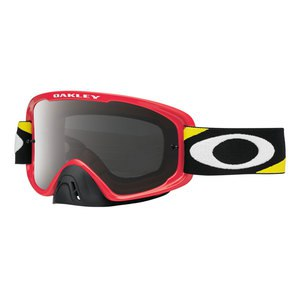 Masque cross O2 MX  - HERITAGE RACER RED LENS DARK GREY 2016 Rouge