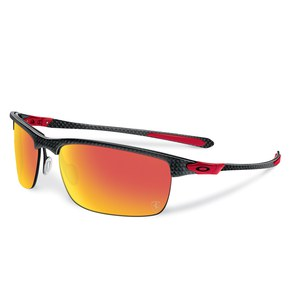 Lunettes de soleil CARBON BLADE - FERRARI COLLECTION - POLISHED CARBON - RUBY IRIDIUM POLARIZED  Carbone