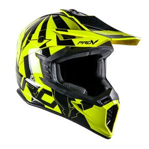 Casque cross SKUD BIKKI YELLOW FLUO 2017 Yellow/Fluo