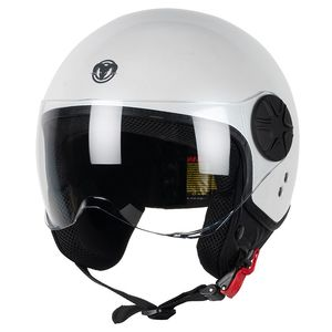 Casque JAKE  White glossy
