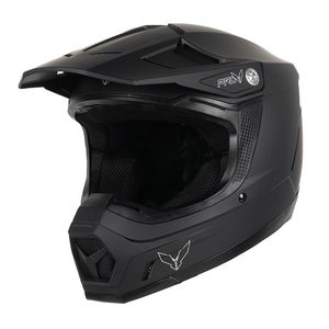 Casque cross EAGLE  Black mat