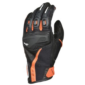 Gants OZONE  Noir/Orange