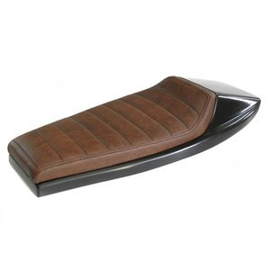Selle confort Café Racer Dirt  Marron