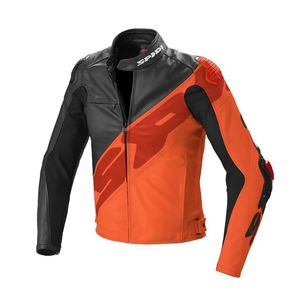 Blouson SUPER-R  Noir/Orange