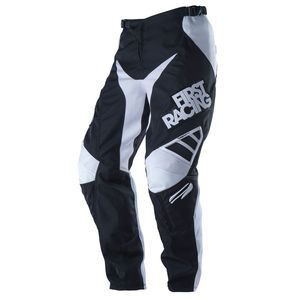 Pantalon Cross First Racing Lite Solid Pant Noir
